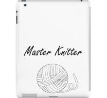 Master Knitter iPad Case/Skin