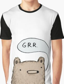 Growling Bear Graphic T-Shirt