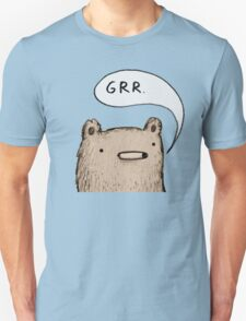 Growling Bear Unisex T-Shirt