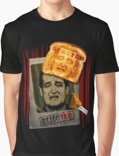 rejecTED, toasTED, amazing feature. Graphic T-Shirt