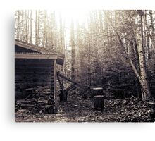 The Woodshed Canvas Print