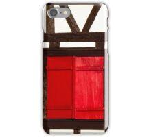 Classic alsacien timber-framing house, Andlau, France iPhone Case/Skin