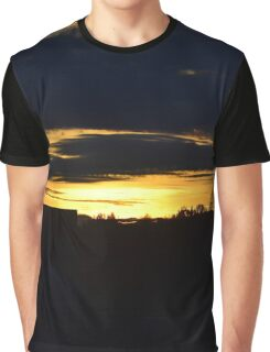 Anchorage Sunset Graphic T-Shirt