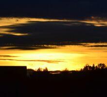 Anchorage Sunset Sticker
