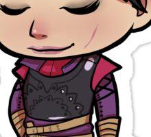 Dragon Age -- Cassandra Chibi with Book Sticker