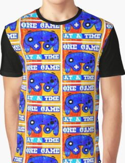 ONE GAME AT A TIME Graphic T-Shirt