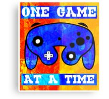 ONE GAME AT A TIME Metal Print