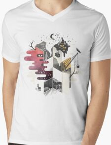 Jung at Heart Mens V-Neck T-Shirt