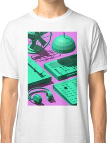 Low Poly Studio Objects 3D Illustration Classic T-Shirt