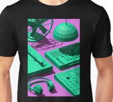Low Poly Studio Objects 3D Illustration Unisex T-Shirt