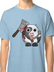 Cow Chop Bloody Knife Classic T-Shirt