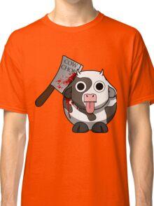 Cow Chop Bloody Knife Classic T-Shirt
