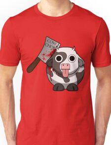 Cow Chop Bloody Knife Unisex T-Shirt