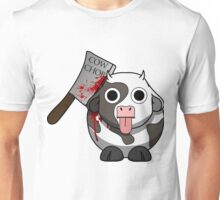 Cow Chop Bloody Knife Unisex T-Shirt