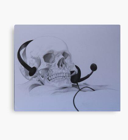 Gamer Skull Canvas Print