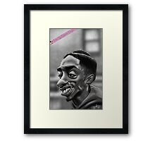 Tupac as Bishop from Juice Framed Print