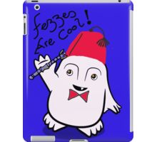 Fezzes are Cool Dr Who Adipose iPad Case/Skin