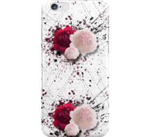 Geometrical Peonies  iPhone Case/Skin