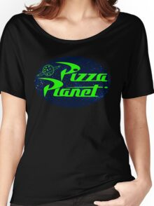 Pizza Planet Space Women's Relaxed Fit T-Shirt