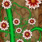 Spring Flowers Blooming  by Junior Mclean