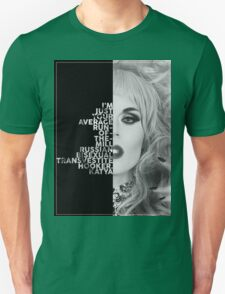 Katya Text Portrait T-Shirt