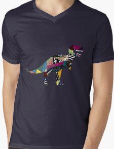 Dinosaur  Mens V-Neck T-Shirt