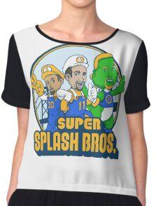 Super Splash Bros Vol 2 Chiffon Top