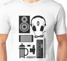 Studio Objects Vector Illustration Unisex T-Shirt