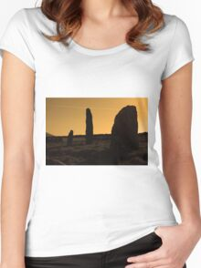 Ancient Monument Women's Fitted Scoop T-Shirt