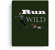 Run Wild Canvas Print