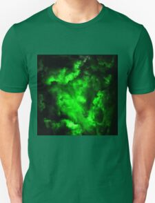 Envy - Abstract In Neon Green And Black T-Shirt