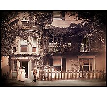 National Headquarters Women Suffrage Photographic Print