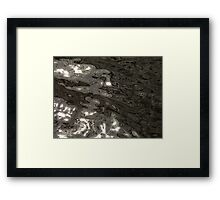 Abstract water 3 Framed Print