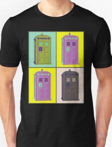 TIMEY WIMEY WARHOL TARDIS 1 Unisex T-Shirt