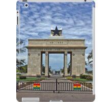 Ghana, Black Star Gate, Accra and Ghana Flags iPad Case/Skin