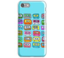 Collecting tapes in the 90s iPhone Case/Skin