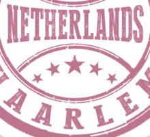 Stamp City Of Haarlem Sticker
