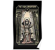 The High Priestess - Sinking Wasteland Tarot Poster