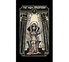The High Priestess - Sinking Wasteland Tarot Photographic Print