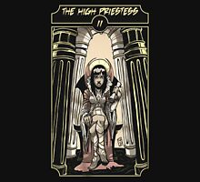 The High Priestess - Sinking Wasteland Tarot Women's Fitted Scoop T-Shirt