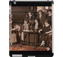 Suffragettes Meeting iPad Case/Skin