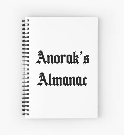 Anorak's Almanac - Ready Player One  Spiral Notebook