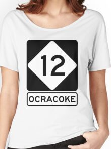 NC 12 - Ocracoke Women's Relaxed Fit T-Shirt