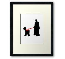 Grill Jedi Framed Print