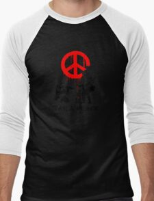 War And Peace - Wall Paint Soldiers T-Shirt