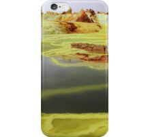 Green Lakes At Dallol Crater iPhone Case/Skin