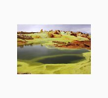 Green Lakes At Dallol Crater Unisex T-Shirt