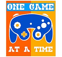 ONE GAME AT A TIME-2 Photographic Print