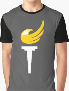 Libertarian Party Torch Graphic T-Shirt