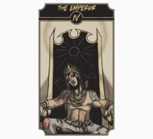 The Emperor - Sinking Wasteland Tarot Kids Tee